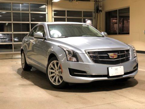 Silver Moonlight Metallic 2018 Cadillac ATS AWD