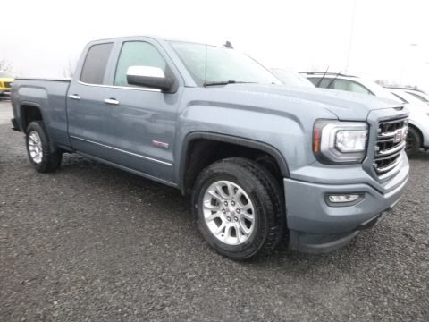 Light Steel Gray Metallic 2016 GMC Sierra 1500 SLE Double Cab 4WD