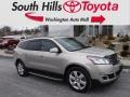 Chevrolet Traverse LT AWD Champagne Silver Metallic photo #1
