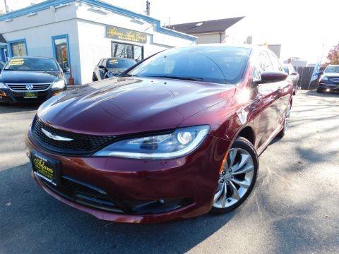 Velvet Red Pearl 2015 Chrysler 200 S