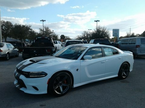 White Knuckle 2018 Dodge Charger SRT Hellcat