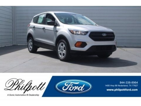 Ingot Silver 2018 Ford Escape S
