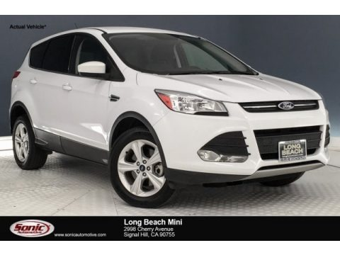 Oxford White 2016 Ford Escape SE 4WD