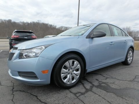 Ice Blue Metallic 2012 Chevrolet Cruze LS