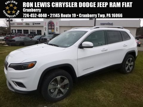 Bright White 2019 Jeep Cherokee Limited 4x4