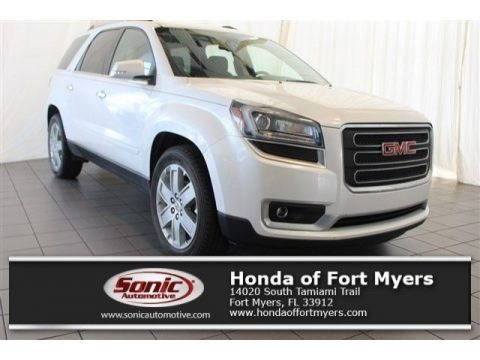 White Frost Tricoat 2017 GMC Acadia Limited FWD