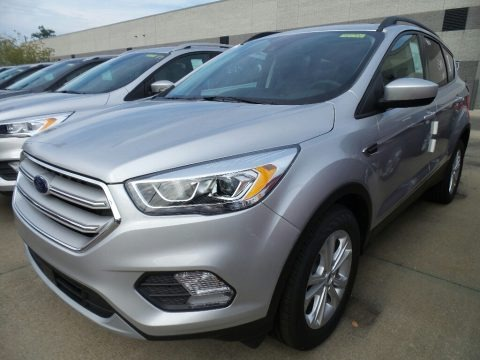 Ingot Silver 2018 Ford Escape SEL 4WD