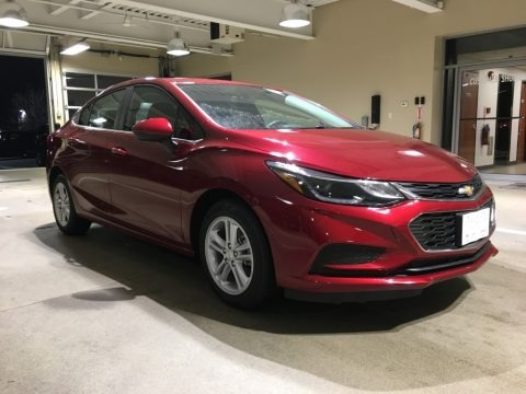 Cajun Red Tintcoat 2018 Chevrolet Cruze LT
