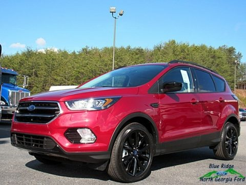 Ruby Red 2018 Ford Escape SE 4WD