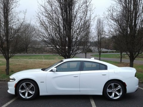 Bright White 2016 Dodge Charger R/T