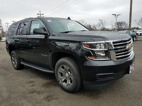 Black 2018 Chevrolet Tahoe LS 4WD