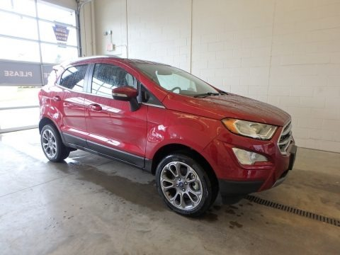 Ruby Red 2018 Ford EcoSport Titanium 4WD
