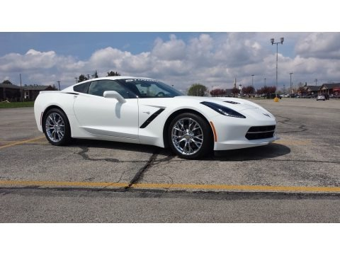 Arctic White 2016 Chevrolet Corvette Stingray Coupe