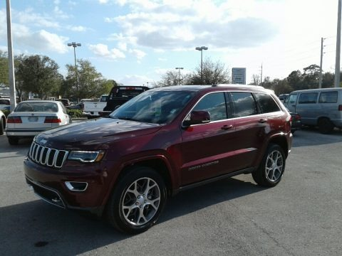 Velvet Red Pearl 2018 Jeep Grand Cherokee Sterling Edition