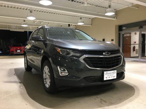 Nightfall Gray Metallic 2018 Chevrolet Equinox LT AWD