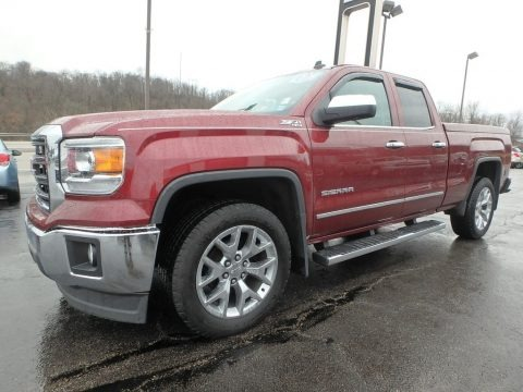 Sonoma Red Metallic 2014 GMC Sierra 1500 SLT Double Cab 4x4