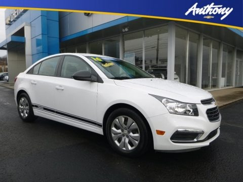 Summit White 2016 Chevrolet Cruze Limited LS