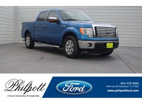 Blue Flame Metallic 2012 Ford F150 XLT SuperCrew