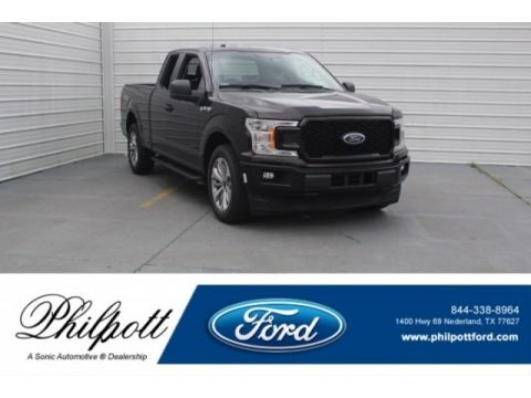 Magma Red 2018 Ford F150 XL SuperCab