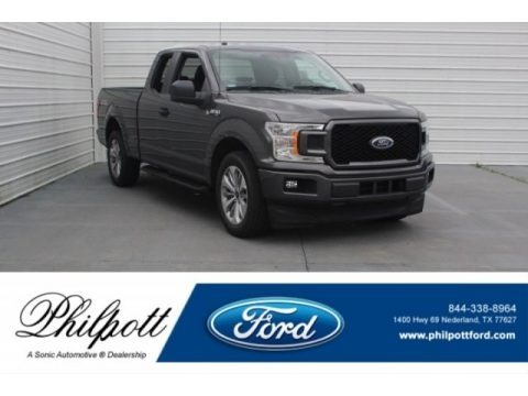 Magnetic 2018 Ford F150 XL SuperCab