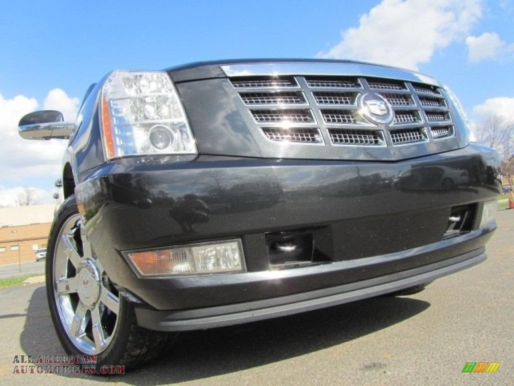 2011 Escalade ESV Luxury AWD - Black Ice Metallic / Ebony/Ebony photo #1