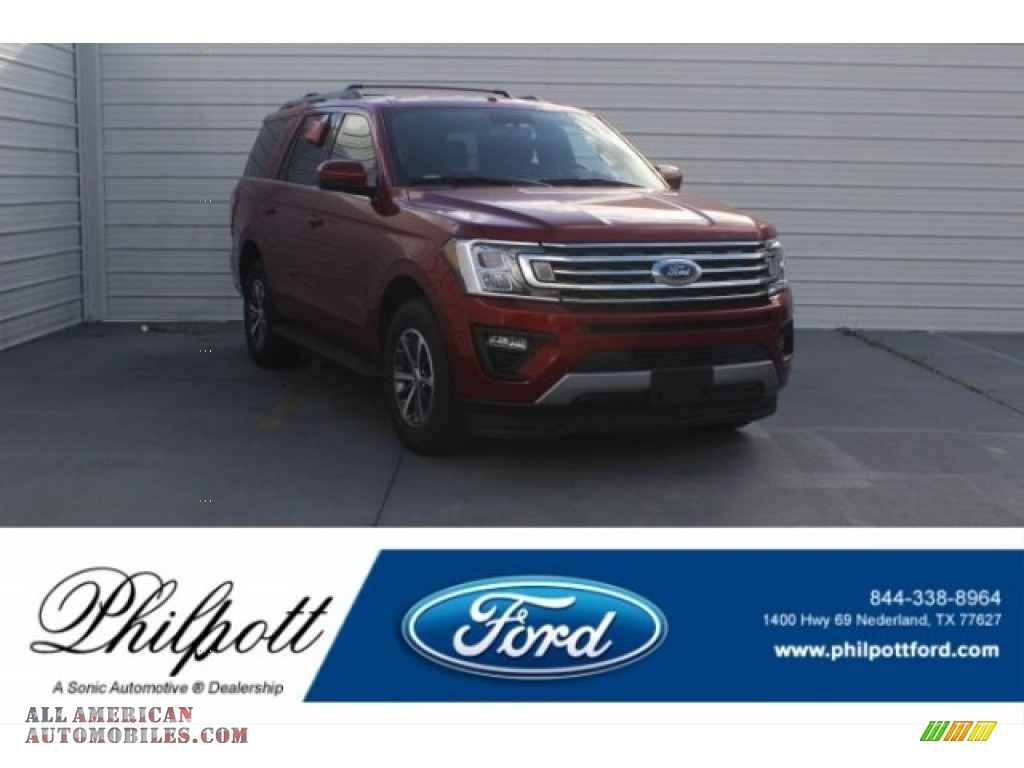 2018 Expedition XLT - Ruby Red / Ebony photo #1