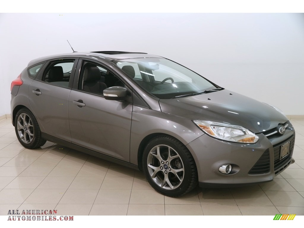 2014 Focus SE Hatchback - Sterling Gray / Charcoal Black photo #1