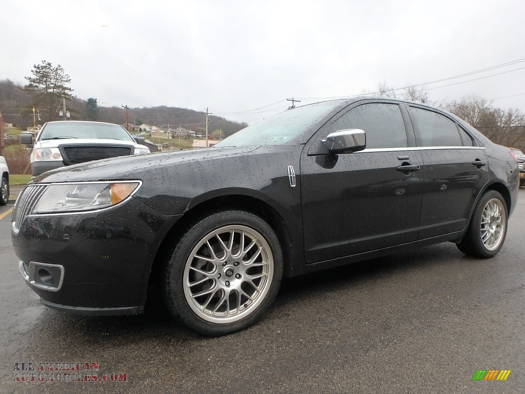 2010 MKZ AWD - Tuxedo Black Metallic / Dark Charcoal photo #1