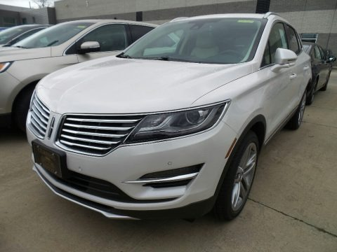 White Platinum 2018 Lincoln MKC Reserve AWD