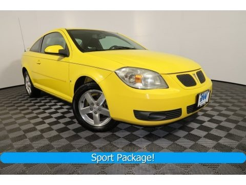 Competition Yellow 2008 Pontiac G5