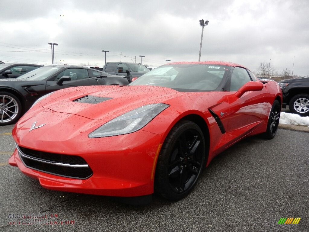 Torch Red / Black Chevrolet Corvette Stingray Coupe
