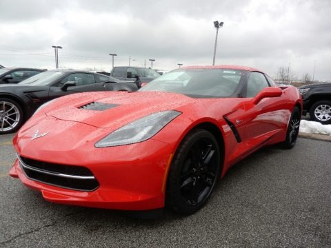 Torch Red 2019 Chevrolet Corvette Stingray Coupe