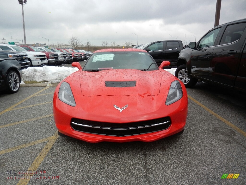 2019 Corvette Stingray Coupe - Torch Red / Black photo #2