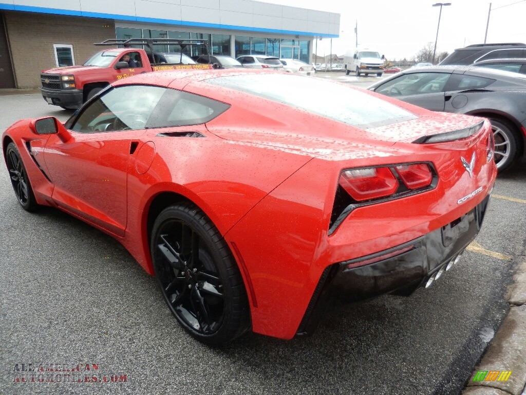 2019 Corvette Stingray Coupe - Torch Red / Black photo #5