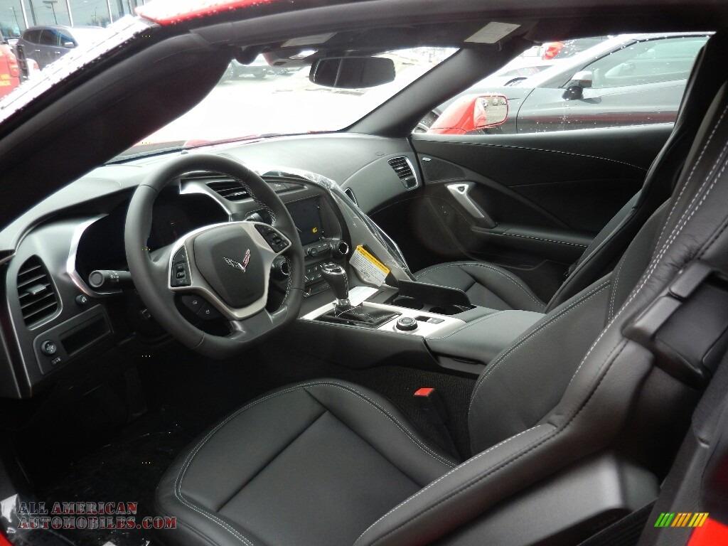 2019 Corvette Stingray Coupe - Torch Red / Black photo #6
