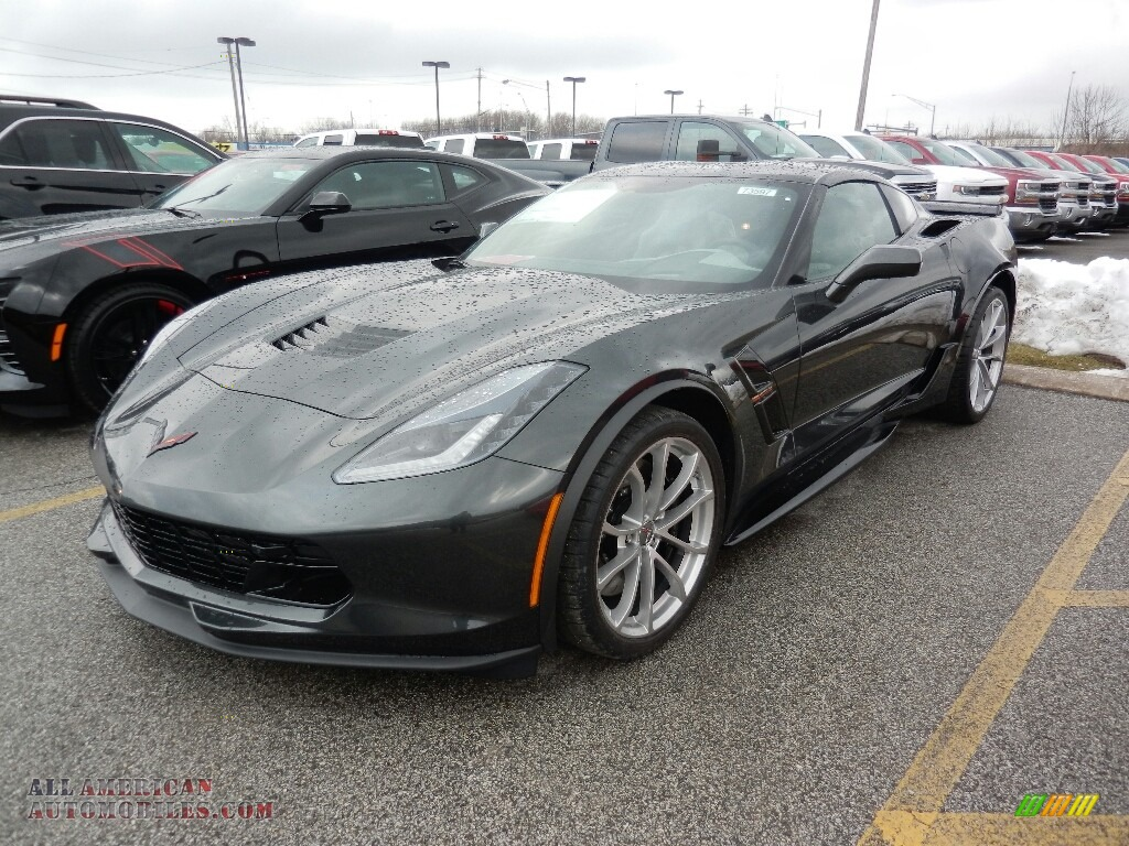Shadow Gray Metallic / Gray Chevrolet Corvette Grand Sport Coupe