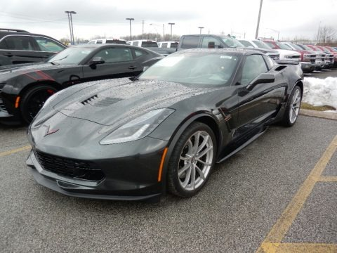 Watkins Glen Gray Metallic 2019 Chevrolet Corvette Grand Sport Coupe