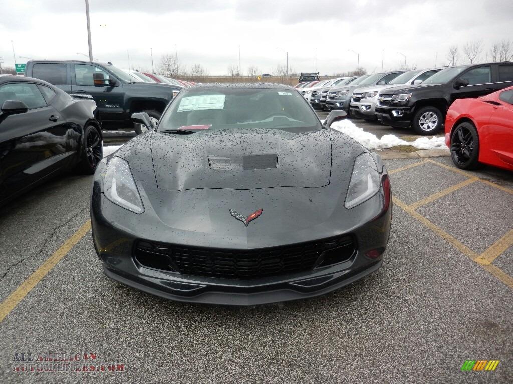 2019 Corvette Grand Sport Coupe - Watkins Glen Gray Metallic / Gray photo #2