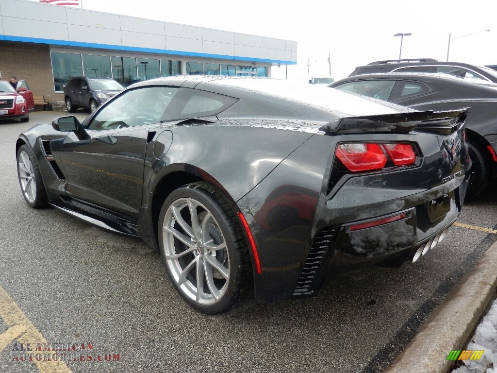 2019 Corvette Grand Sport Coupe - Watkins Glen Gray Metallic / Gray photo #5