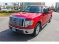 Ford F150 XLT SuperCrew Red Candy Metallic photo #3