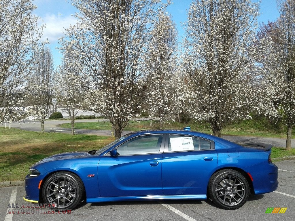2018 Charger R/T Scat Pack - IndiGo Blue / Black photo #1