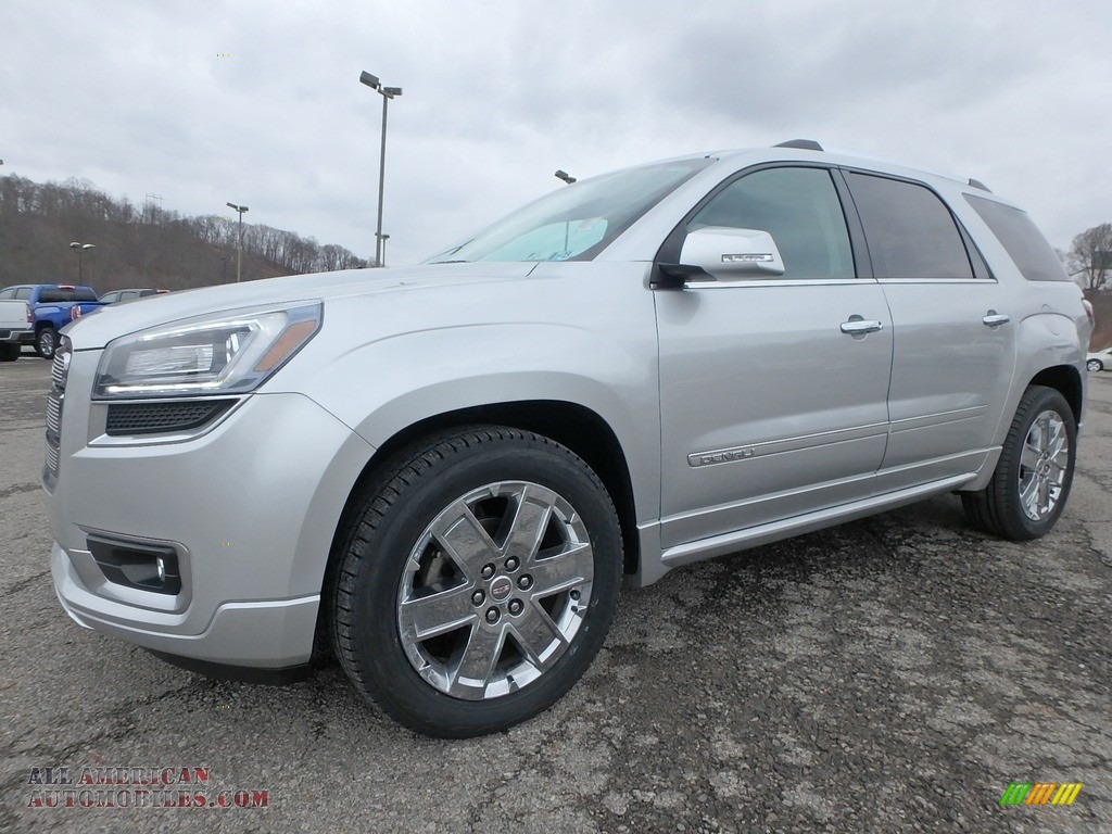 2013 Acadia Denali AWD - Quicksilver Metallic / Ebony photo #1