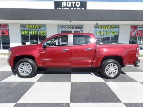 Cardinal Red 2018 GMC Canyon SLT Crew Cab