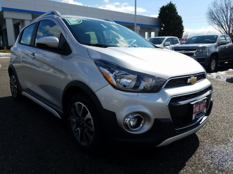 Silver Ice 2018 Chevrolet Spark ACTIV