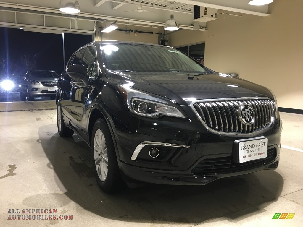 Ebony Twilight Metallic / Light Neutral Buick Envision Preferred