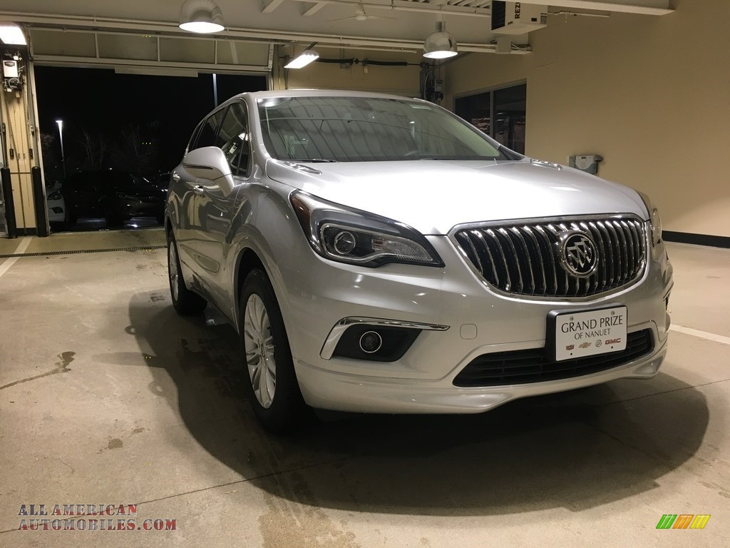 Galaxy Silver Metallic / Light Neutral Buick Envision Preferred