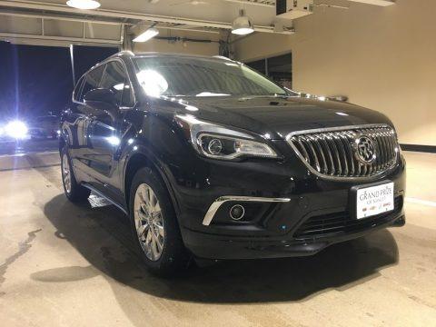 Ebony Twilight Metallic 2018 Buick Envision Essence AWD
