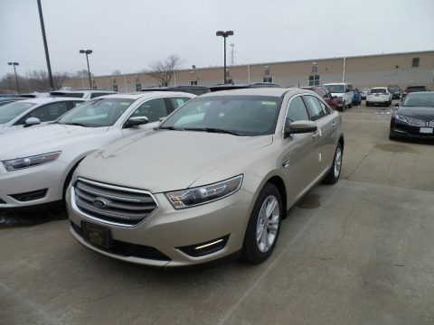 White Gold 2018 Ford Taurus SEL