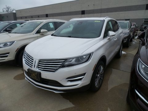 White Platinum 2018 Lincoln MKC Reserve