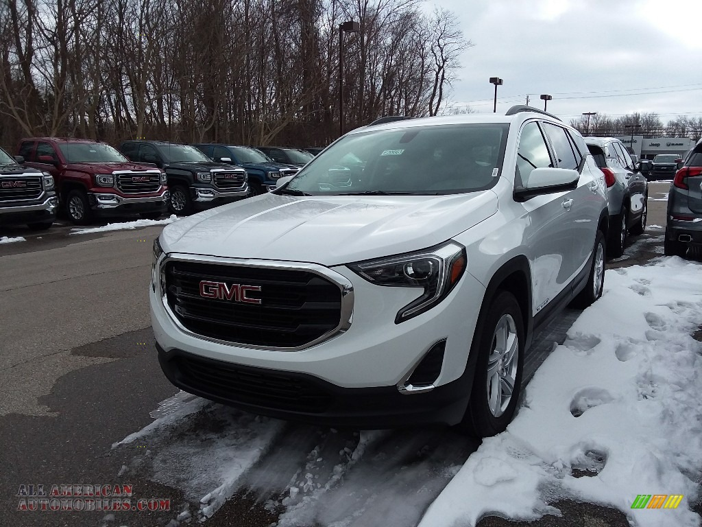 2018 Terrain SLE AWD - Summit White / ­Jet Black photo #1